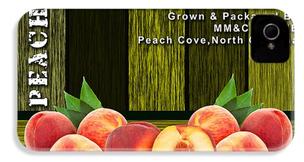 Peach Farm IPhone 4s Case by Marvin Blaine