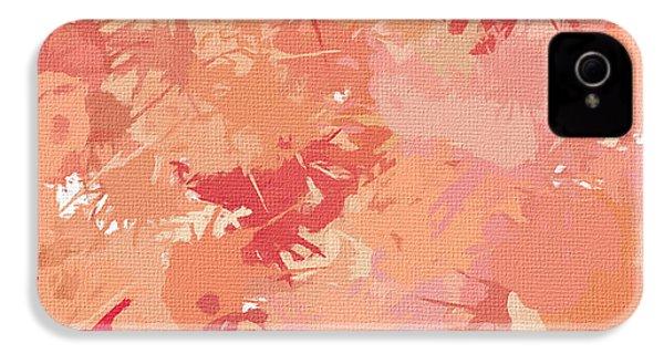Peach Galore IPhone 4s Case by Lourry Legarde