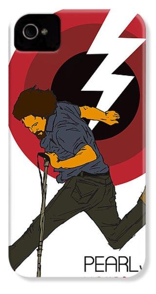 Pearl Jam Lightning Bolt IPhone 4s Case by Tomas Raul Calvo Sanchez
