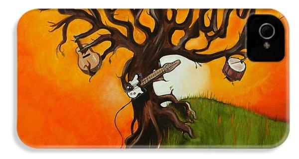 Pearl Jam Tree IPhone 4s Case by Tarah Davis