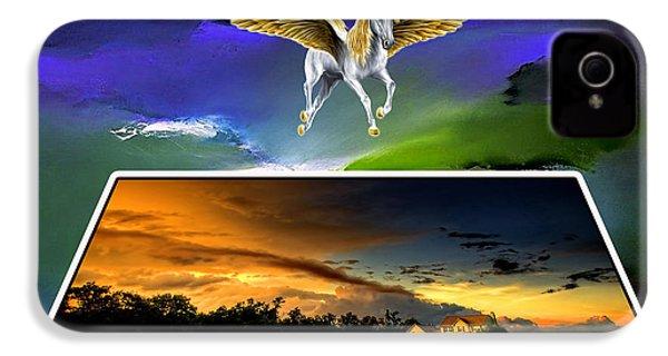 Pegasus In Flight IPhone 4s Case