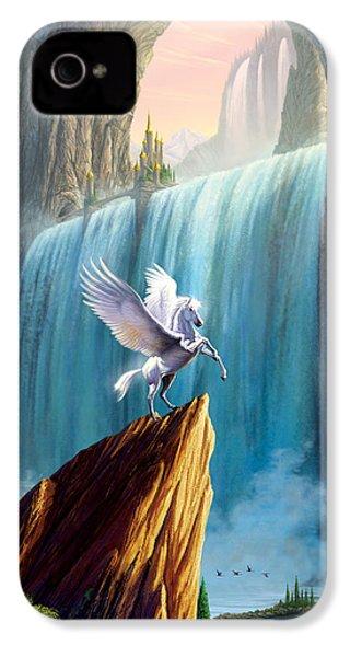 Pegasus Kingdom IPhone 4s Case by Garry Walton