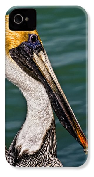 Pelican Profile No.40 IPhone 4s Case by Mark Myhaver