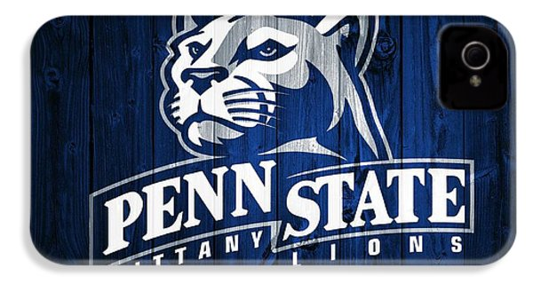 Penn State Barn Door IPhone 4s Case by Dan Sproul