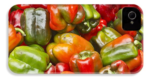 IPhone 4s Case featuring the photograph Peppers by Ricky L Jones