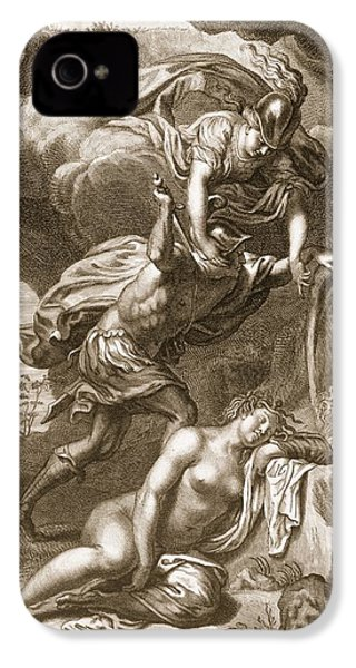 Perseus Cuts Off Medusas Head, 1731 IPhone 4s Case by Bernard Picart