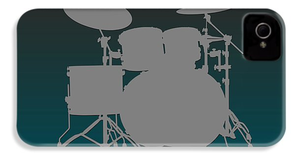 Philadelphia Eagles Drum Set IPhone 4s Case by Joe Hamilton