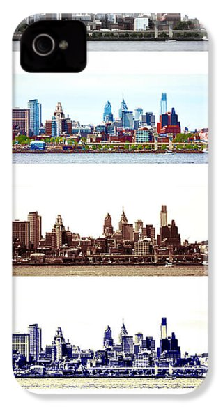Philadelphia Four Seasons IPhone 4s Case by Olivier Le Queinec