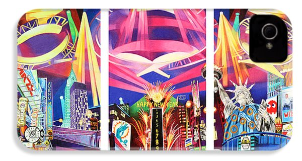 Phish New York For New Years Triptych IPhone 4s Case