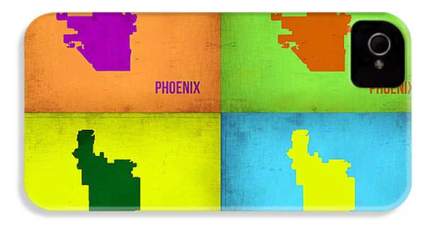 Phoenix Pop Art Map IPhone 4s Case