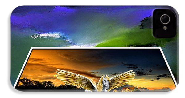 Picture A Pegasus IPhone 4s Case