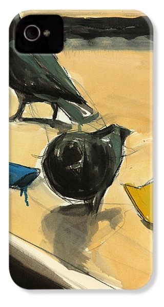 Pigeons IPhone 4s Case by Daniel Clarke