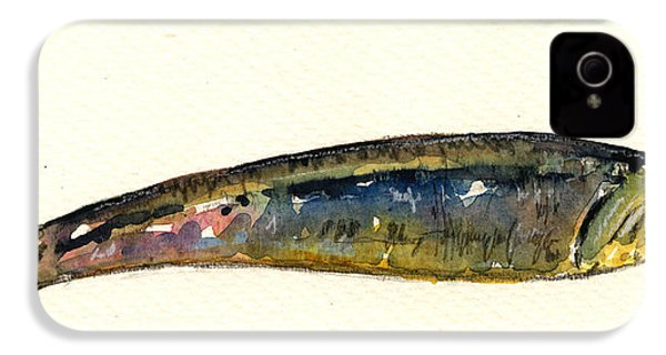 Pilchard IPhone 4s Case by Juan  Bosco