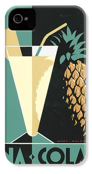 Pina Colada IPhone 4s Case by Brian James