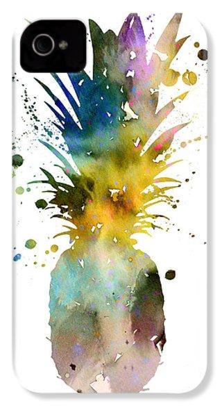 Pineapple 2 IPhone 4s Case by Luke and Slavi
