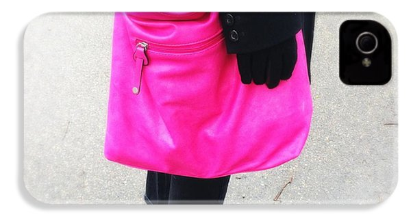Pink Shoulder Bag IPhone 4s Case