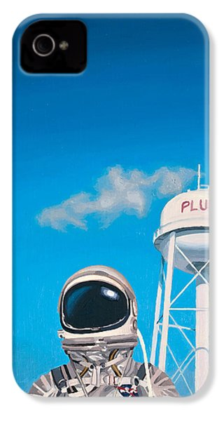 IPhone 4s Case featuring the painting Pluto by Scott Listfield