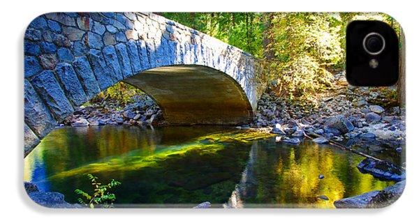 Pohono Bridge Yosemite National Park IPhone 4s Case by Scott McGuire