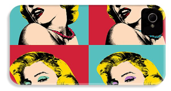 Pop Art Collage  IPhone 4s Case by Mark Ashkenazi