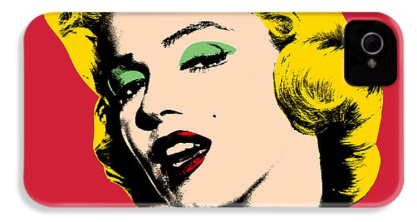 Pop Art IPhone 4s Case by Mark Ashkenazi