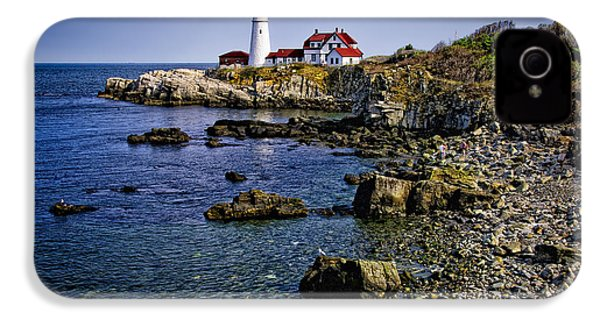 Portland Headlight 36 IPhone 4s Case by Mark Myhaver