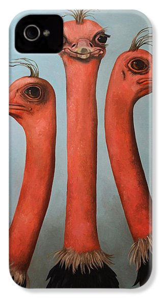 Posers 2 IPhone 4s Case by Leah Saulnier The Painting Maniac