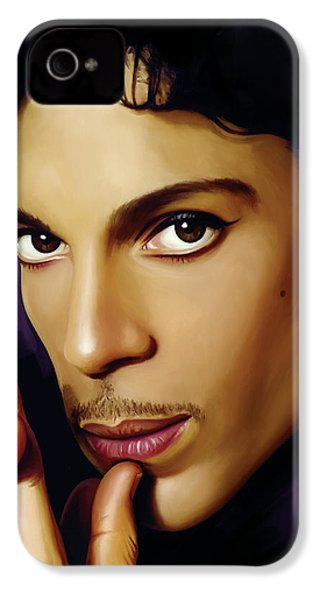 Prince Artwork IPhone 4s Case by Sheraz A