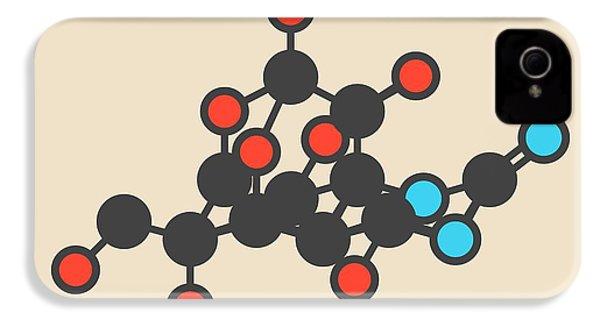 Pufferfish Neurotoxin Molecule IPhone 4s Case by Molekuul