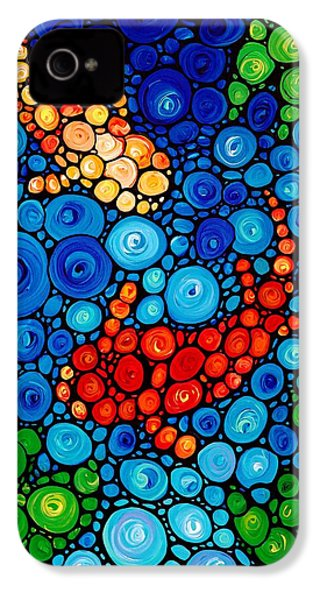 Pure Koi Joi IPhone 4s Case by Sharon Cummings