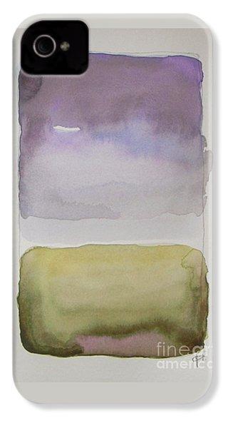 Purple Morning IPhone 4s Case