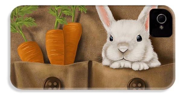 Rabbit Hole IPhone 4s Case by Veronica Minozzi