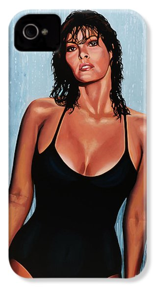 Raquel Welch IPhone 4s Case by Paul Meijering