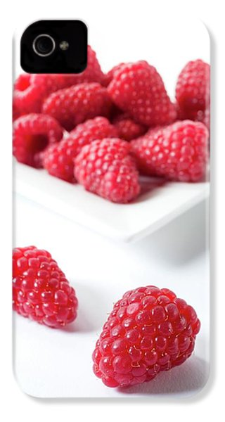 Raspberries IPhone 4s Case by Aberration Films Ltd