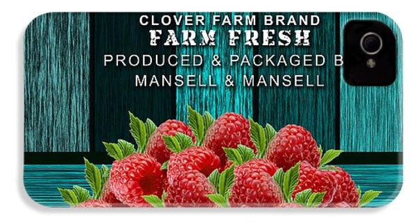 Raspberry Farm IPhone 4s Case by Marvin Blaine