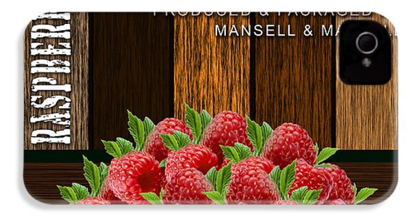 Raspberry Fields Forever IPhone 4s Case by Marvin Blaine