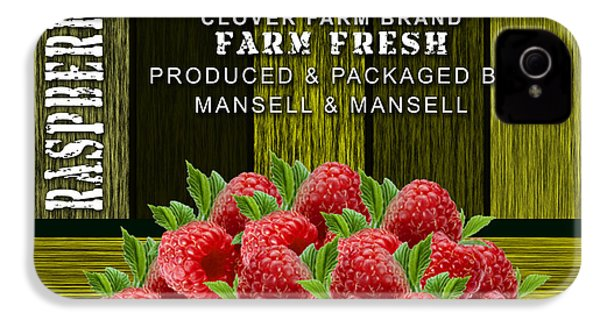 Raspberry Fields IPhone 4s Case by Marvin Blaine