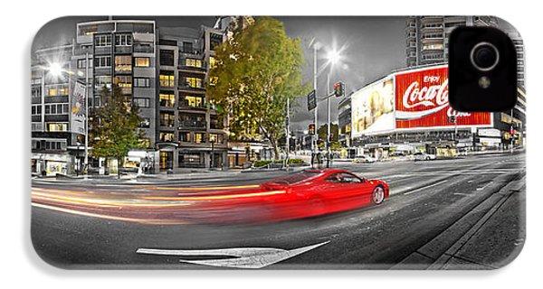 Red Lights Sydney Nights IPhone 4s Case