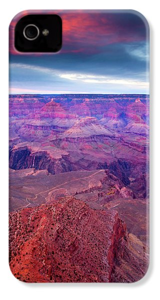 Red Rock Dusk IPhone 4s Case by Mike  Dawson