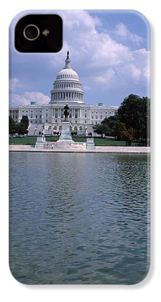 Reflecting Pool With A Government IPhone 4s Case by Panoramic Images