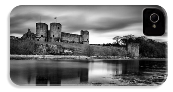 Rhuddlan Castle IPhone 4s Case by Dave Bowman