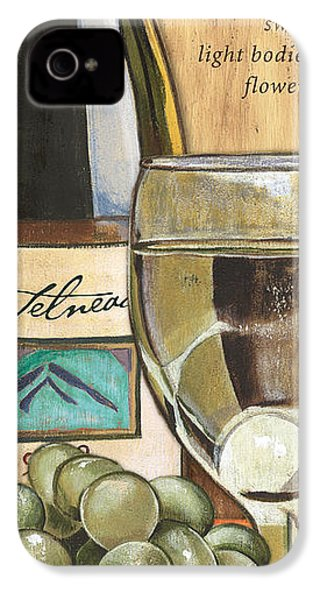 Riesling IPhone 4s Case by Debbie DeWitt
