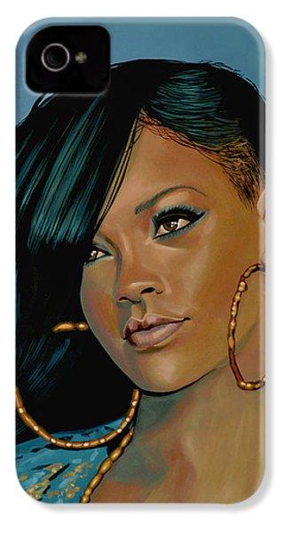 Rihanna Painting IPhone 4s Case