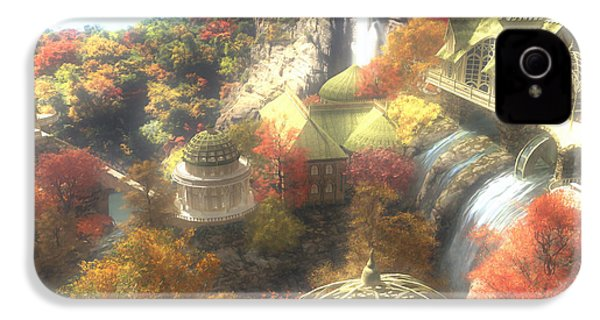 Rivendell IPhone 4s Case by Cynthia Decker