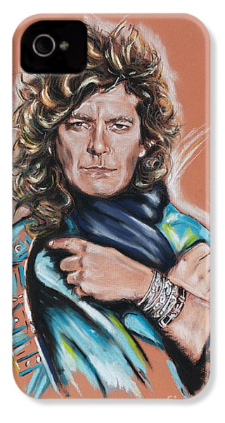 Robert Plant IPhone 4s Case by Melanie D