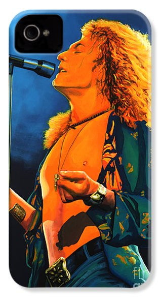 Robert Plant IPhone 4s Case by Paul Meijering