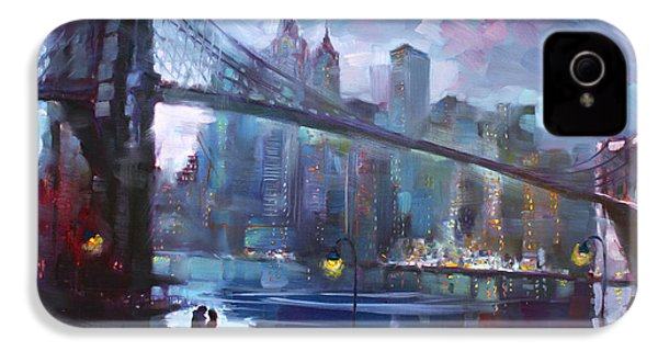 Romance By East River II IPhone 4s Case by Ylli Haruni