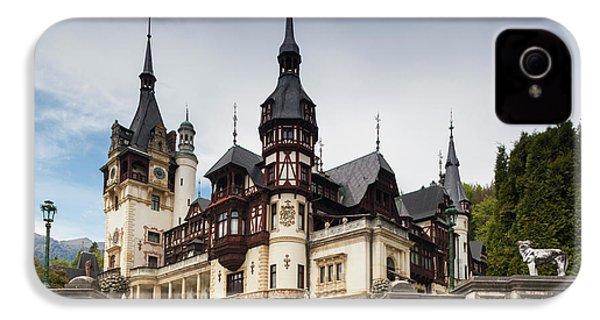 Romania, Transylvania, Sinaia, Peles IPhone 4s Case by Walter Bibikow