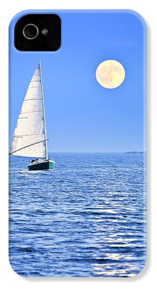 Sailboat At Full Moon IPhone 4s Case