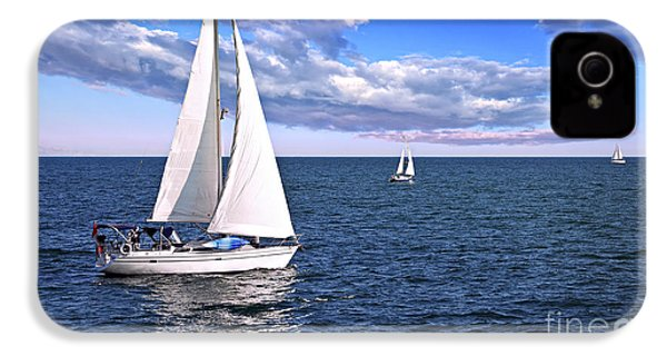 Sailboats At Sea IPhone 4s Case