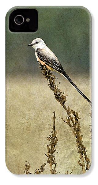 Scissortailed-flycatcher IPhone 4s Case by Betty LaRue